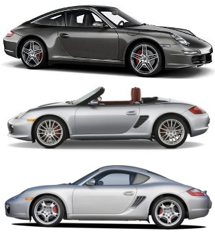 2005 to 2007 porsche 911 997 1 carrera turbo and 987. Black Bedroom Furniture Sets. Home Design Ideas